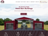 Clear Span Metal Barn Structures