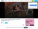 Online Editable Sindhi Wedding Video Invitation