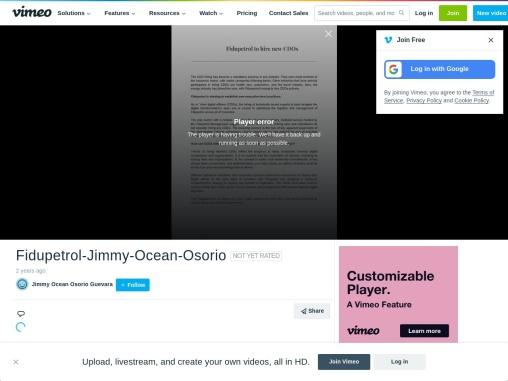 Jimmy Osorio: con acusaciones falsas y escándalo