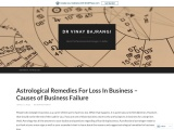 Astrological Remedies For Loss In Business – Business Failure – Business Astrology
