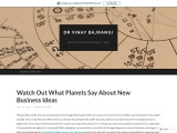 Planets Responsible for New Business Ideas – Best Business Ideas as per Birth Chart