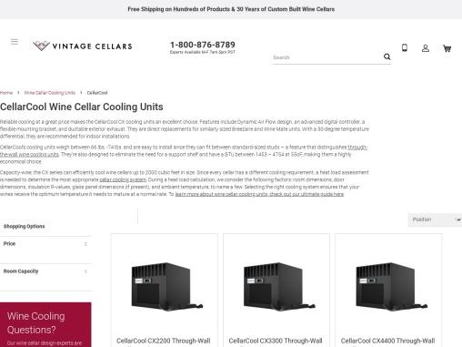 Cellarcool Wine Cellar Cooling Units