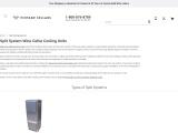Split System Wine Cellar Cooling Units