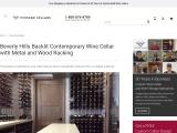 Custom Contemporary Wine Cellars Beverly Hills, Los Angeles