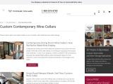 Build Custom Contemporary Wine Cellars