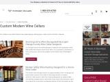 Build Custom Modern Wine Cellars