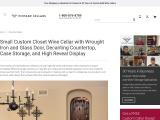 Custom Traditional Wine Cellars Orange County, California