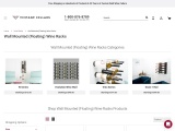 Shop Wall Mounted (Floating) Wine Racks – VintageCellars.com