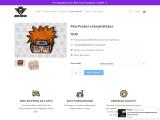 Pain Peeker Decal – Sticker • Premium Quality
