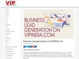 Business Lead generation on VIPINDIA.com