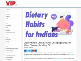 Dietary Habits Of Indians Are Changing Especially When Choosing Cooking Oil