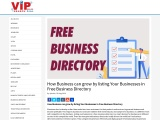 How Business can grow by listing Your Businesses in Free Business Directory