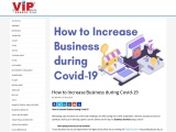 How to Increase Business during Covid-19