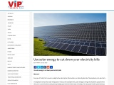 Use solar energy to cut down your electricity bills
