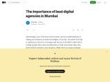 The importance of best digital agencies in Mumbai