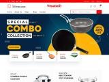 st aluminium pressure cooker | pressure cooker biryani –Visalam