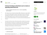 9 clever techniques advertisers use to create an appealing advertisement