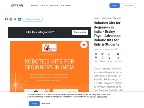 Robotics Kits for Beginners in India – Brainy Toys – Buy Advanced Robotic Kits for Kids & Students