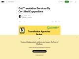 Translation Services | Translation Companies in Dubai