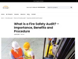 Are you looking for a Fire Safety Audit Expert?