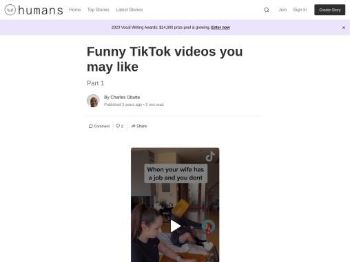 Funny TikTok videos you may like
