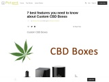 7 best features you need to know about Custom CBD Boxes