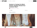 Womens Jewellery Wholesale – New Style Jewellery For Girls!