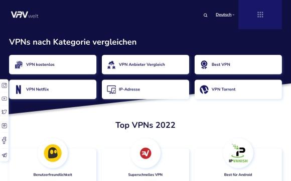 Top VPN Anbieter