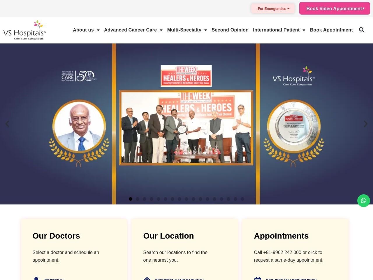 Colorectal cancer Treatment in Chennai