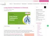 Lung Cancer Treatment in Chennai