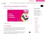 Top 10 cancer hospitals in chennai