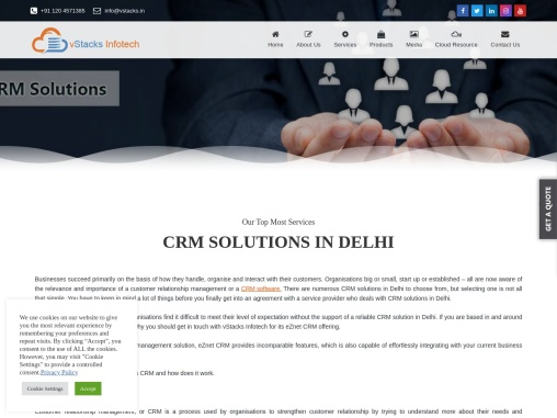 CRM Solutions In Delhi