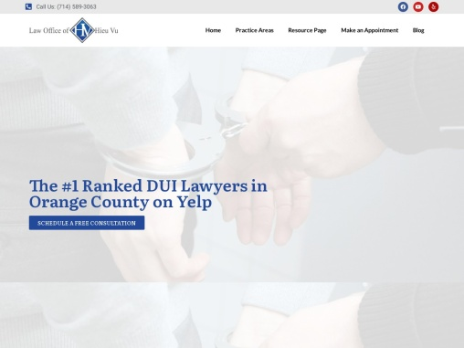 Law Office of Hieu Vu | Criminal Justice Attorney