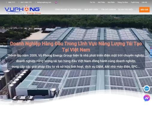 Vũ Phong CTy Điện Năng Lượng Mặt Trời