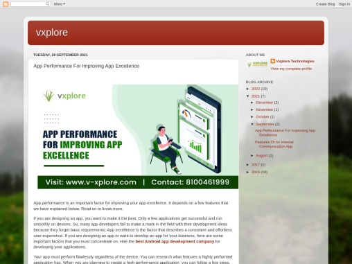 App Performance For Improving App Excellence