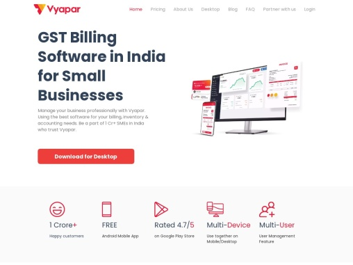 Vyapar – Best Billing, Accounting, and Inventory Management software for small businesses