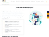 Java course in singapore – VyTCDC, Singapore