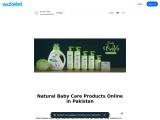 Natural Baby Care Products Online in Pakistan