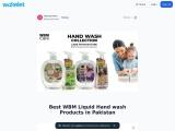 Best WBM Liquid HAND WASH Products in Pakistan