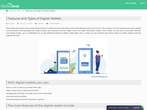 what is digital wallet and what is his features?