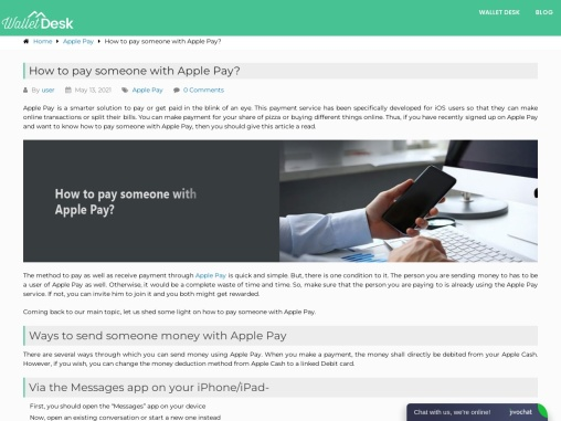 How to pay someone with Apple pay ?