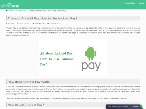 What is Android pay and how to use it?