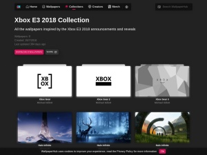Xbox E3 2018 Collection   WallpaperHub