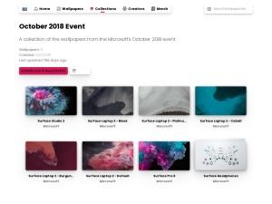 October 2018 Event   WallpaperHub