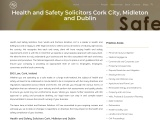 Health & Safety Law – Solicitors in Cork   Dublin – Walsh & Partners