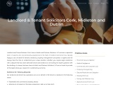 Landlord & Tenant Law Solicitors in Cork   Dublin – Walsh & Partners