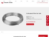 Galvanized Wire for Sale | GI Steel Wire Factory & Supplier