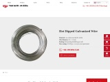 Hot Dipped Galvanized Wire   40-240 μm Zinc Coating