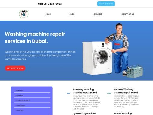 Siemens Washing Machine Repair In Dubai