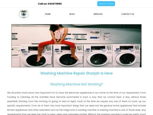 Washing Machine Repair in Sharjah